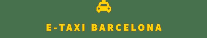 E-TAXI BARCELONA Logo